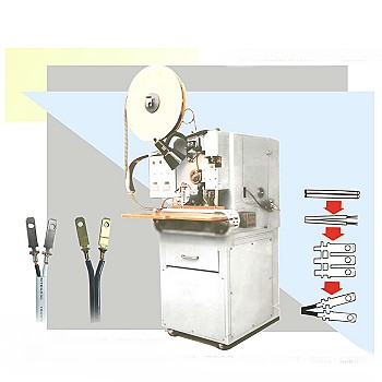 Multi-Function Auto Stripping & Crimping Machine