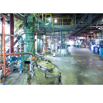 The inside of our factory