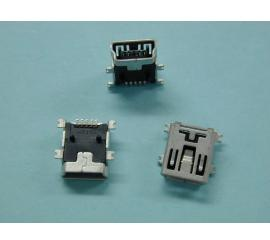 0.8mm Pitch Mini USB SMT 5P Board to Wire Connector