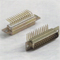 """D-Sub P.C.B.Right Angle Type 0.318""""(8.08mm)Body Machined Pins Connector"""
