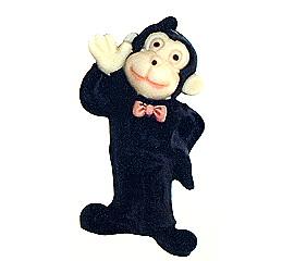 小猴子巧克力棒棒糖
