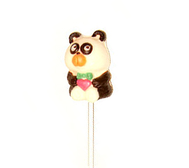 動物造型巧克力--貓熊