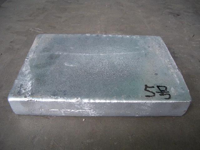 CNC Zinc Aluminum Ingot