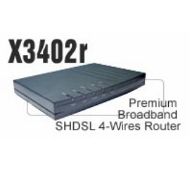 X3402r SHDSl 4-wires Router (4 Ports Switch)