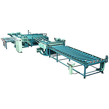 AUTOMATIC PLYWOOD DOUBLE SAW