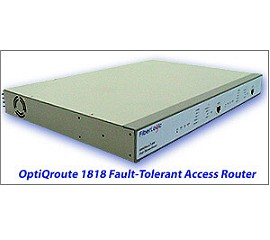 OptiQroute 1818 Fault-Tolerant Router