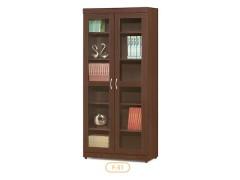 雜誌櫃-木製書櫃-客廳書架-辦公櫃-收納櫃-文件櫃-書櫃-F51