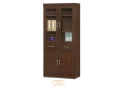 雜誌櫃-木製書櫃-客廳書架-辦公櫃-收納櫃-文件櫃-書櫃-F52