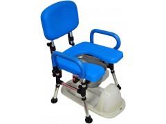 雙掀摺疊馬桶椅