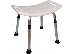 K/D弧形坐墊無背洗澡椅