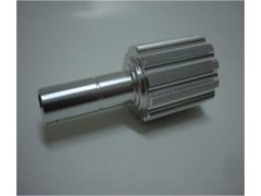 cnc machining part with bright silver anodized