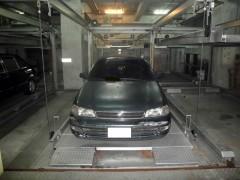 馬達鋼索式-三層(機械停車設備)