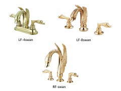 Traditional style faucet, Swan series