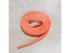 上蠟單色扁帶-橘色