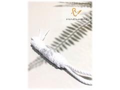 圓帶系列-白馬騎士 (單色麻花質圓鞋帶)