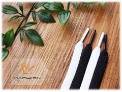 扁帶系列-黑白配 (單色平扁鞋帶)