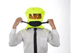 PRO普樂逃生防煙面罩,第三代Mask3-Bright螢光黃防煙面罩