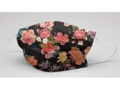 [花漾年華系列 玫瑰花]萬州通-三層防護口罩  台灣製造 美國FDA歐盟CE雙認證 外銷口罩 / 成人50入一盒