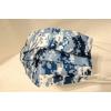 [造型穿搭 數位迷彩藍]萬州通-三層防護口罩  台灣製造 美國FDA歐盟CE雙認證 外銷口罩 / 成人50入一盒