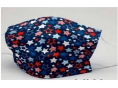 [造型穿搭 繽紛小星星]萬州通-三層防護口罩  台灣製造 美國FDA歐盟CE雙認證 外銷口罩 / 成人50入一盒