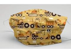 [可愛童趣 堆高機]萬州通-三層防護口罩  台灣製造 美國FDA歐盟CE雙認證 外銷口罩 / 成人50入一盒