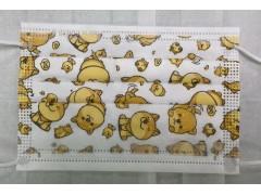 **[可愛童趣 柴犬]萬州通-三層防護口罩  台灣製造 美國FDA歐盟CE雙認證 外銷口罩 / 兒童50入一盒