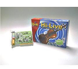 HI-LIVE PCI多聲道環繞音效卡
