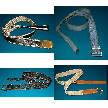 Belt and webbing