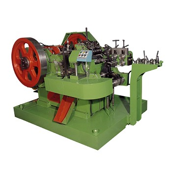 2 die 4 ball screw head making machine