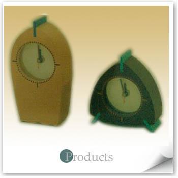 三角型時鐘