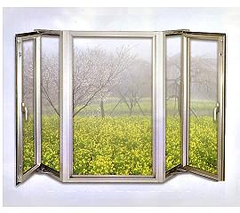 百強牌不銹鋼隔音窗