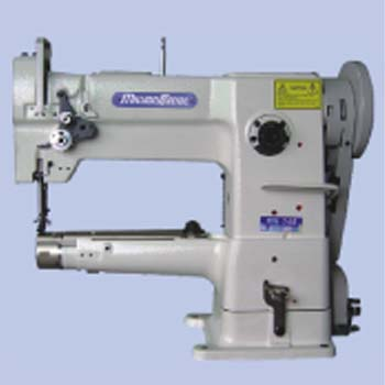 SINGLE NEEDLE CYLINDER BED WITH UNISON FEED LOCKSTITCH SEWING MACHINE