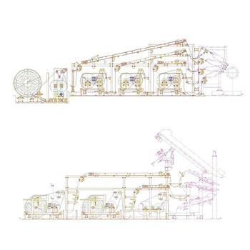 一次、二次大捲化供料架客製化設計