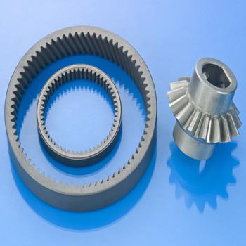 Powdered-metal-bevel-gears