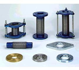 RUBBER AND METAL EXPANSION JOINT