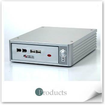 鋁製 Mini ITX 主機