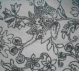 C201 植絨花樣棉布