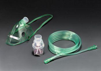 噴霧面罩組-明綠
