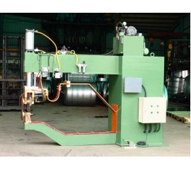 Automatic Air-Pressure Horizontal Rolling Welder For Top Cover