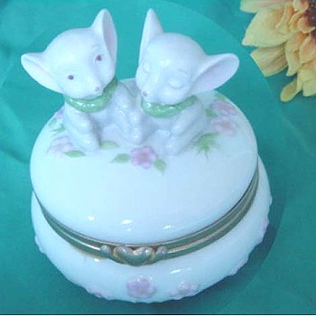 Porcelain Decoration,Jewelry Box