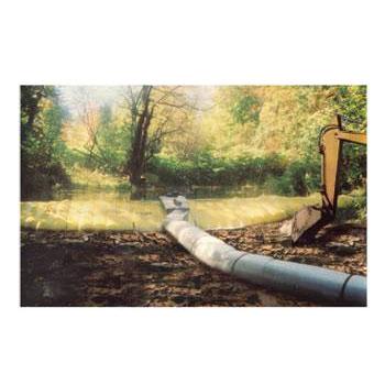 可收納式帆布擋水閘門