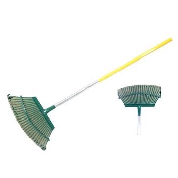 Heavy Duty Lawn Rake-25T with Aluminum Handle