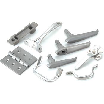 Hardware of titanium