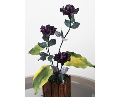 神秘的黑森林 Artificial Silk Flowers