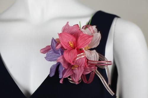 彩虹杜睊(粉色)Artificial Wedding Flower OEM