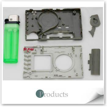OEM塑膠射出零件-小型隨身聽