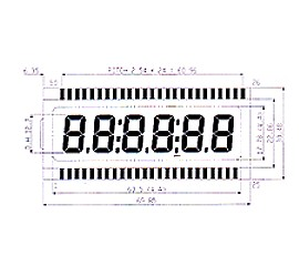 Standard TN Type LCD
