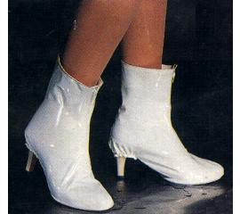 淑女用長統高跟型防雨鞋套