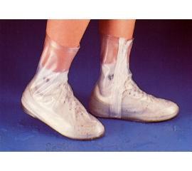 淑女用馬靴型防雨鞋套