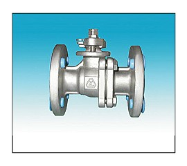 Two-Piece Full Port Flange Ends Ball Valve